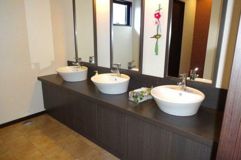 24.旅館・うり坊|洗面台