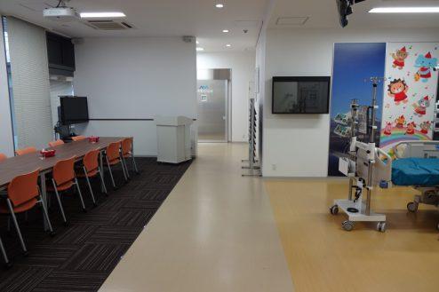 13.手術室|ミーティングルーム・集中治療部設置ゾーン