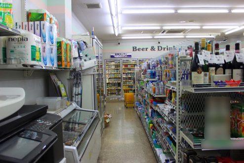 3.コンビニA|店内・商品棚・コピー機