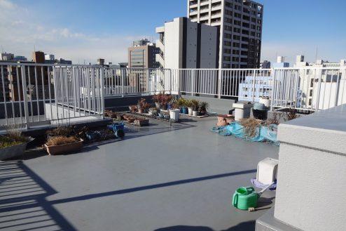 17.亀戸オフィス・倉庫|屋上