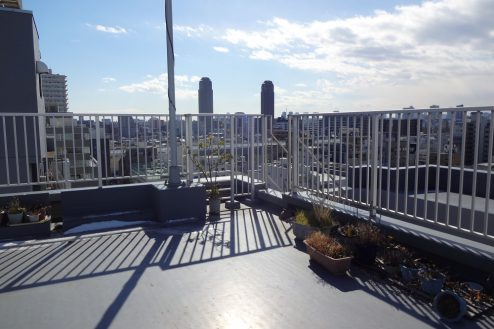 2.亀戸オフィス・倉庫|屋上