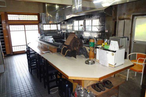 13.Rental studio『コマチ堂』|1F厨房・カウンター