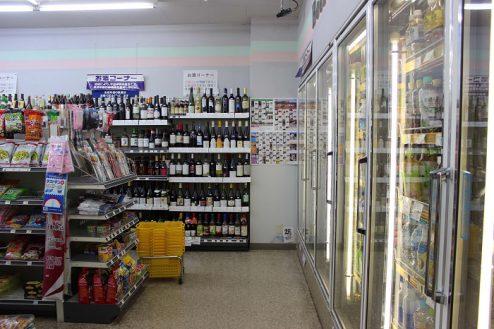 2.コンビニA|店内・商品棚・冷蔵庫