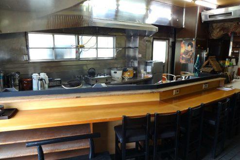 12.Rental studio『コマチ堂』|1F厨房・カウンター