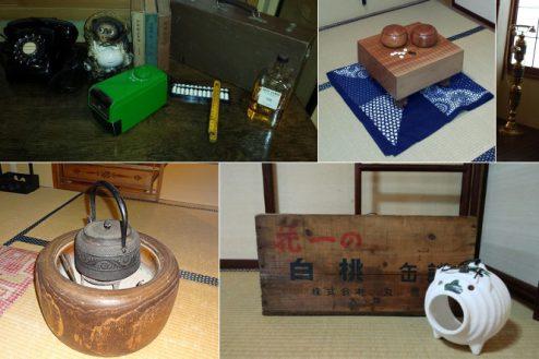 30.Rental studio『コマチ堂』|アンティーク品や小物の一例