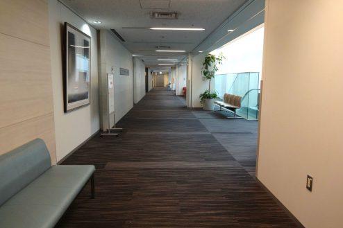1.港区病院|3F廊下
