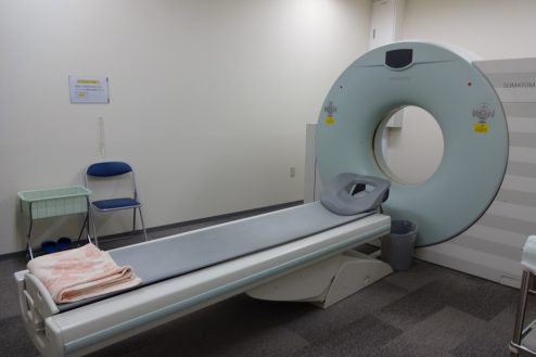8.港区病院|CT撮影室
