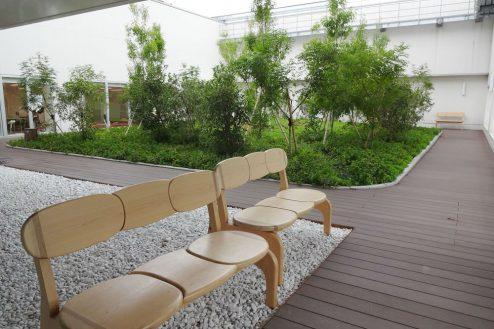 18.港区病院|13F屋上庭園