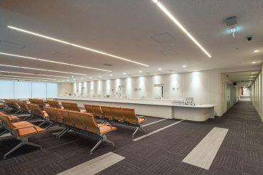 港区病院|診察室・待合室・ロビー・廊下・CT・食堂・車寄せ|東京