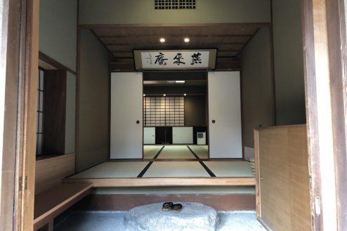 9.坂戸日本家屋 玄関