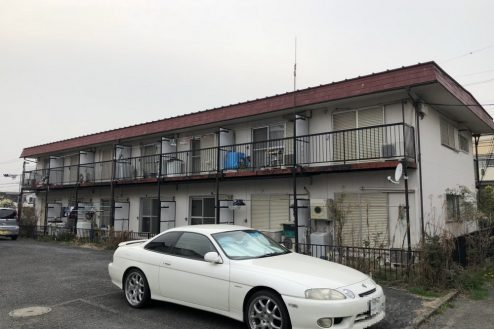 府中アパート|洋室・リビング・玄関・外観|東京