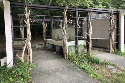 28.山梨県合宿所|外設備