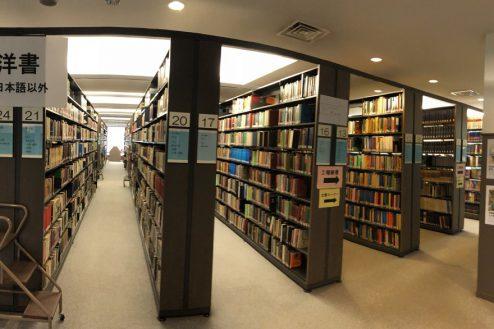 13.女子大新座キャンパス|図書館