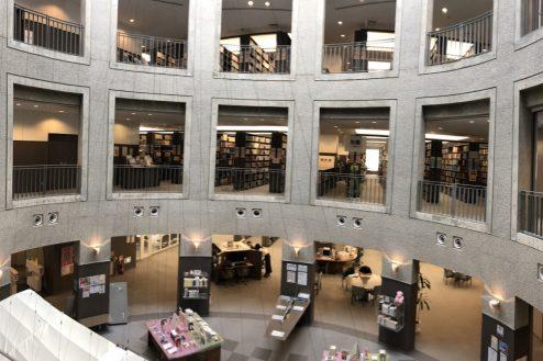 2.女子大新座キャンパス|図書館