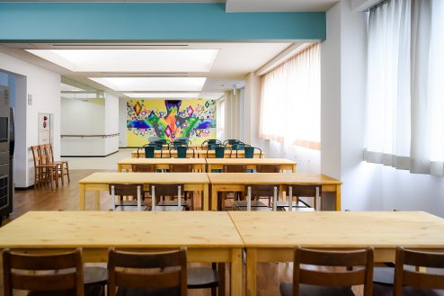 3.千葉県合宿所|食堂