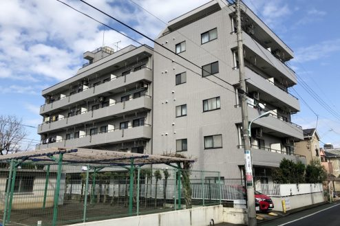 府中マンション|洋室・和室・リビングダイニング・キッチン・家具・屋上・共用部・外観・ハウススタジオ|東京