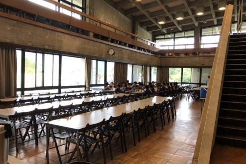 3.山梨県合宿所|食堂