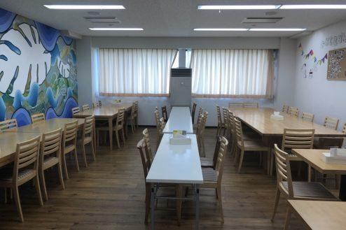 10.千葉県合宿所|食堂