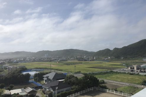 25.千葉県合宿所|屋上からの景色