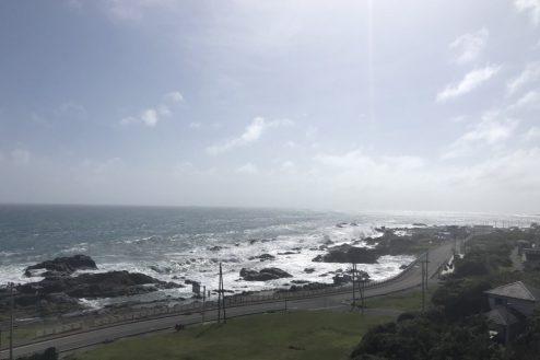 26.千葉県合宿所|屋上からの景色