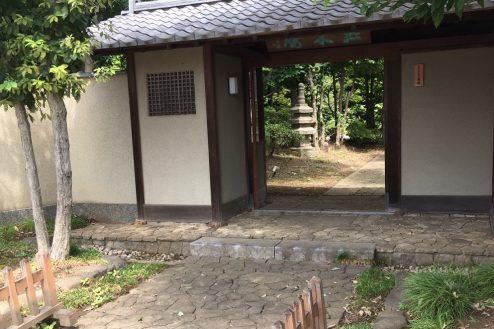 17.坂戸日本家屋|正門