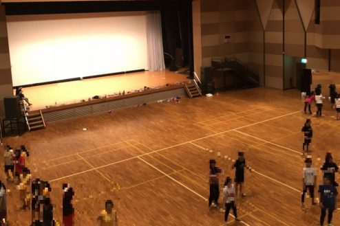 4.千葉県合宿所|体育館