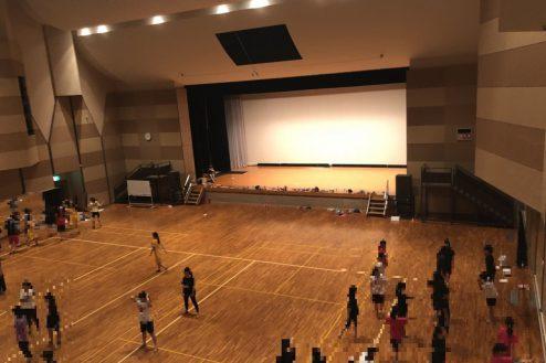 5.千葉県合宿所|体育館