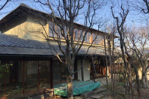 25.坂戸日本家屋|外観・縁側