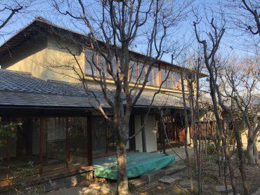 坂戸日本家屋|広い和室・縁側・庭園・陶芸・24時間