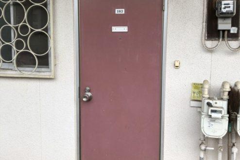 7.府中アパート|ドア