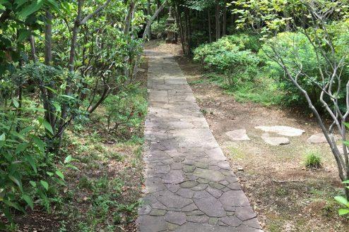 23.坂戸日本家屋|庭園内