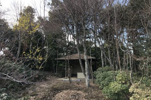24.坂戸日本家屋|庭園内小屋