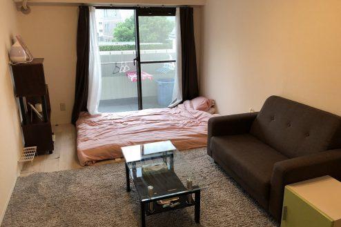 西新宿マンションスタジオ1・2・3階|洋室・ワンルーム・寝室・キッチン・ハウススタジオ|東京