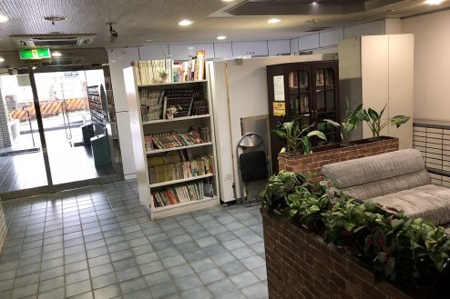 12.西新宿マンションスタジオ共用部|ロビー