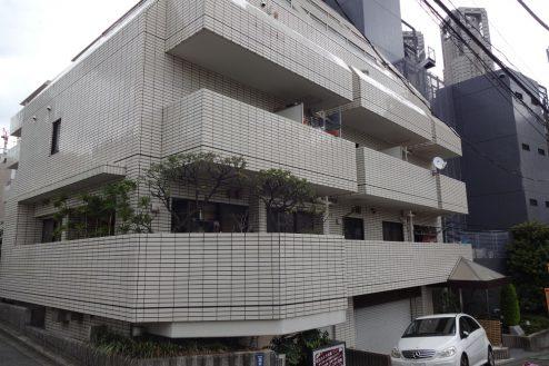 18.西新宿マンションスタジオ共用部|外観