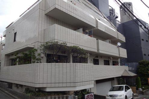 20.西新宿マンションスタジオ1・2・3階|共用部・外観