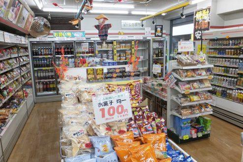 5.東京近郊のコンビニ 店内・商品棚