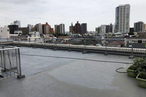 3.西新宿マンションスタジオ共用部 屋上