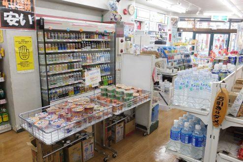 7.東京近郊のコンビニ|店内・商品棚