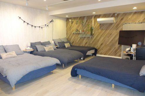 3.西新宿マンションスタジオ1・2・3階|多目的ルーム・宿泊部屋