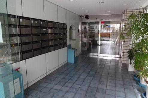 18.西新宿マンションスタジオ1・2・3階|共用部・エントランス