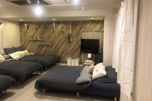 2.西新宿マンションスタジオ1・2・3階|多目的ルーム・宿泊部屋