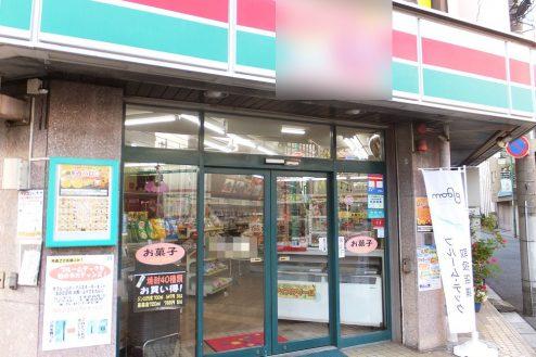1.東京近郊のコンビニ|外観・入口