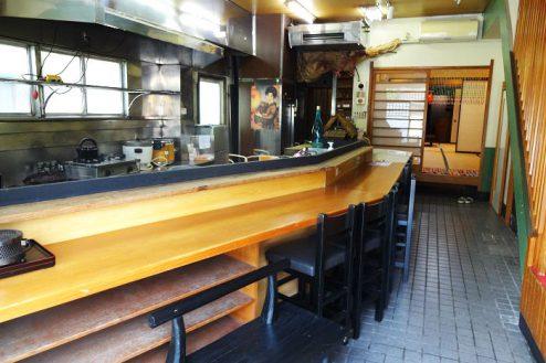 1.Rental studio『コマチ堂』|1F厨房・カウンター