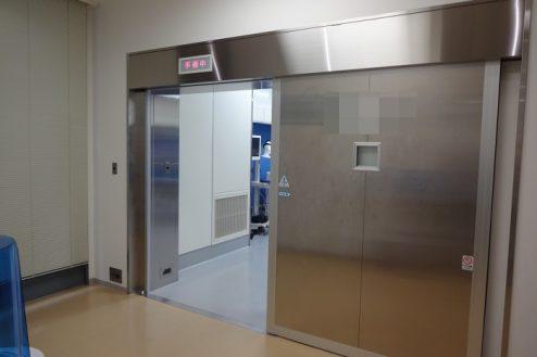 2.手術室|自動ドア
