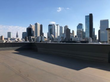 新宿屋上|ビル群|東京