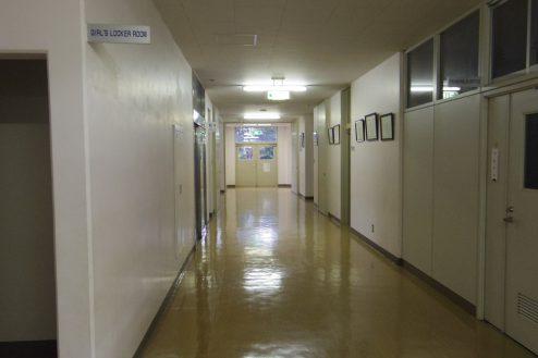 13.埼玉県中学校|廊下