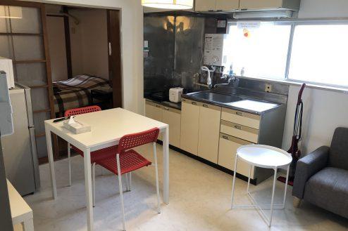 上荻マンションスタジオ|ダイニング・洋室・共用部・駐車場・ハウススタジオ|東京