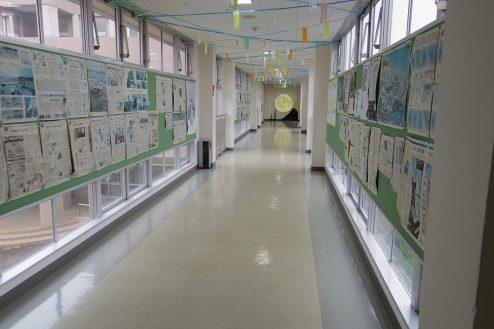 1.埼玉県中学校|廊下