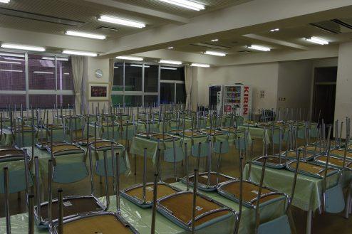 11.埼玉県中学校|食堂